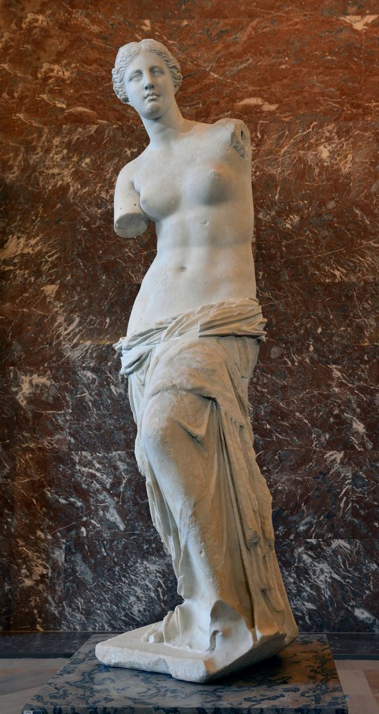 Front_views_of_the_Venus_de_Milo