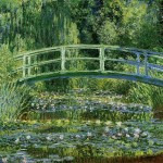 Water Lilies and the Japanese bridge